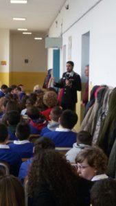 """Carovigno: i Carabinieri incontrano gli studenti della """"Brandi-Morelli"""""""