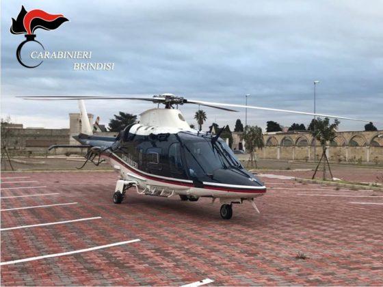 Controllo del territorio da parte dei Carabinieri. In azione elicotteri e pattuglie