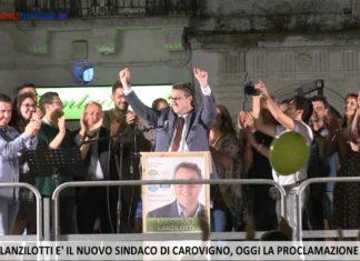 Massimo Lanzilotti Comizio di Ringraziamento