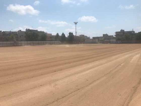 Carovigno, lavori in corso allo stadio comunale in vista del nuovo campionato