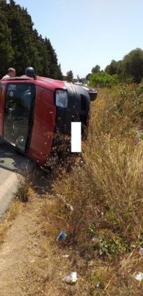Incidente sulla provinciale: due feriti lievi