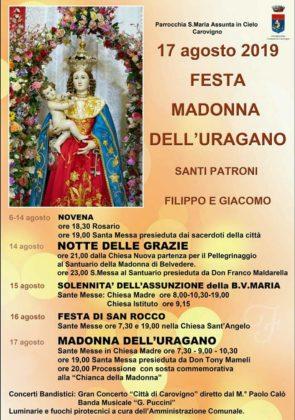Carovigno festeggia oggi la Madonna dell'Uragano